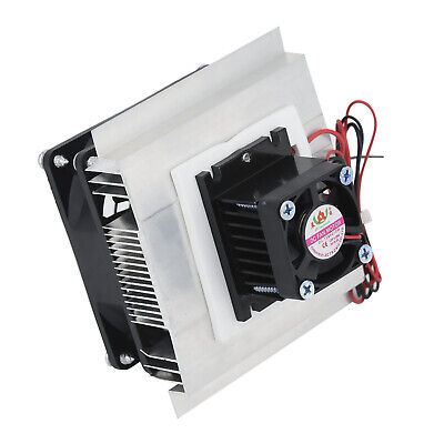 Universal 12V 60W Thermoelectric Peltier Refrigeration Cooling System Set Cooler