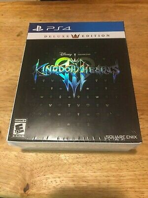Kingdom Hearts 3 Deluxe Edition PS4 Playstation 4 Factory Sealed Free Shipping!
