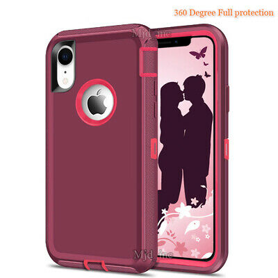 finest selection 4c9f3 379e9 IPHONE XR,IPHONE XS Max Defender Case Cover With Screen Protector fits  Otterbox