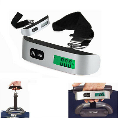 50kg/10g Portable LCD Digital Hanging Luggage Scale Travel Electronic Weight CHG