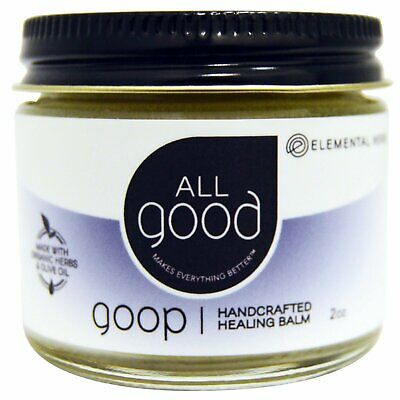 All Good, Goop, Handcrafted Healing Balm, 2 oz - All Good Products