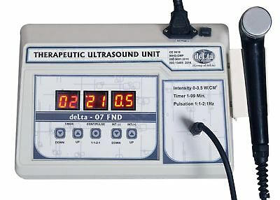 Delta 07FND Chiropractic Digital Ultrasound therapy device 1 MHz Ultra Machine
