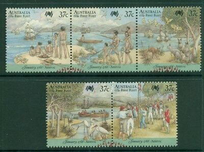 1988 Australian Decimal - Arrival of First Fleet - $0.37 - USED Sheet [6357]