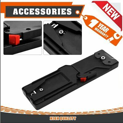 VCT-14 Type Video Camera Tripod V-mount Quick Release Durable Plate Adapter ~N