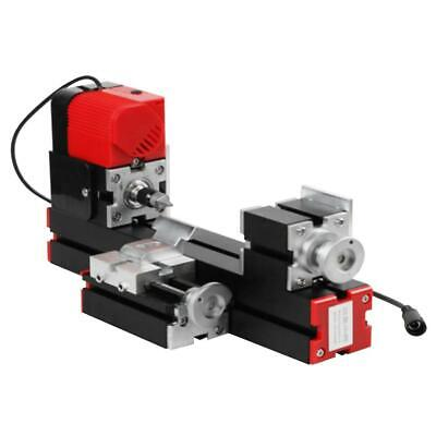 Mini 6 in 1 Motorized Jigsaw Grinder Wood Metal Lathe Woodworking 100-240V