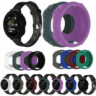 For Garmin Forerunner 235 735XT Watch Silicone Protect Film Guard Case Cover