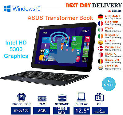 ASUS Transformer Book T300Chi 12.5-Inch Laptop Intel Core M 0.8Ghz 8GB 128GB SSD