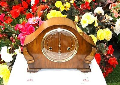 Smiths Antique Art Deco Westminster Chime Mantel Clock, 1952. Rare & Outstanding