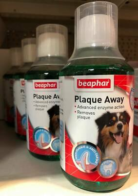Beaphar Mouthwash for Cats and Dogs 250ml  Plaque Away  SAMEDAY DISPATCH