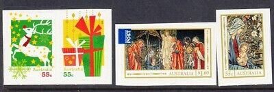 2012 Australian Decimals -  Xmas - MNH P&S set of 4 Booklet stamps