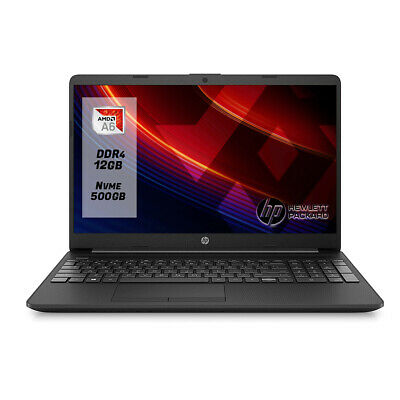 "Notebook Hp 255 G6 Display 15.6""Ram 8Gb Ddr4 /Ssd 240Gb Windows 10 + Office 2019"