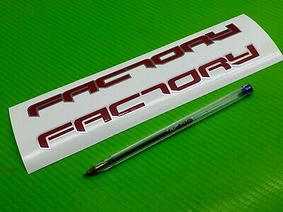 FACTORY logo decal Sticker for Race, Top Box or Toolbox ref #220 Aprilia