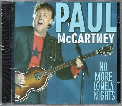 Paul McCartney CD No More Lonely Nights Brand New Sealed