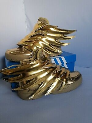 best website 517d8 d3f65 New Adidas Jeremy Scott Wings 3.0 Metallic Gold Batman Uk 6 Us 6.5 Fr 39 1
