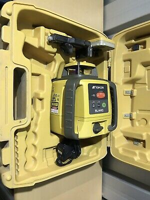 Topcon Laser Level RL-H4C Rotating Laser Level With Receiver