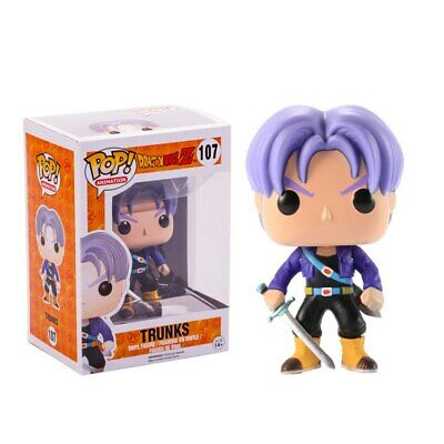 FUNKO POP Anime Dragon Ball Z POP TRUNKS Hair Action Figure PVC Collection Model