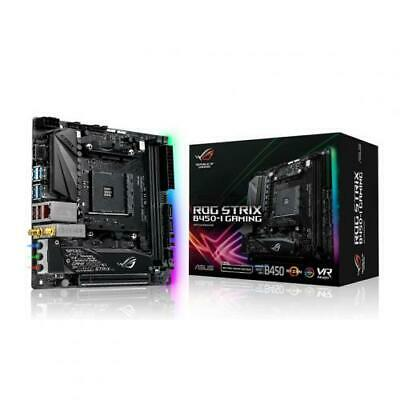 ASUS ROG STRIX B450-I GAMING Mini ITX Motherboard AMD B450 Chipset For AMD Ryzen