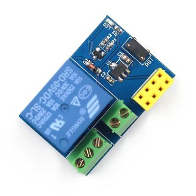 ESP8266 ESP-01S 5V WIFI Relay Module Remote Switch Phone Project Design Kit @