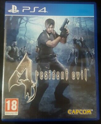 Gioco Resident Evil 4 RE4 Horror x Console Ps4 PlayStation 4 no 2 Come Nuovo
