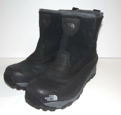806d6f03b74 NEW! THE NORTH Face Chilkat III Pull-On Men Winter Snow Boots Black ...