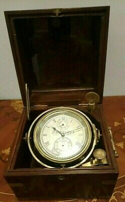 1800s Zenith Ship Chronometre Large, Heavy, Imposing and Keeping PERFECT Time!