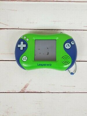 LeapFrog Leapster 2 Handheld Touchscreen Learning System Green FAST FREE SHIP