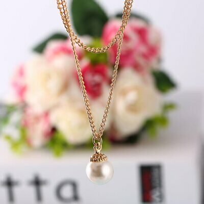 Clavicle Chain Round Pendant Fashion Exquisite Charm Jewelry Women Necklace☼~♌