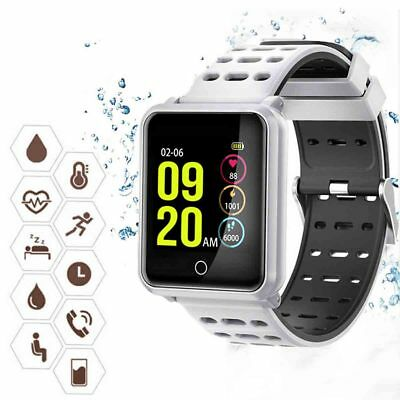 Smartwatch Band Reloj Inteligente Bluetooth Impermeable Mate Para Android/IOS