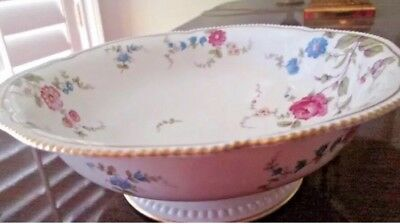"""Castleton Sunnyvale footed vegetable bowl 9"""". beautiful For Easter !"""