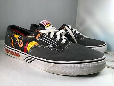 cc35c5b8069 Vans Wolverine Marvel LO Skate Sneakers Shoes X-Men Mens Size 12 Gently Used