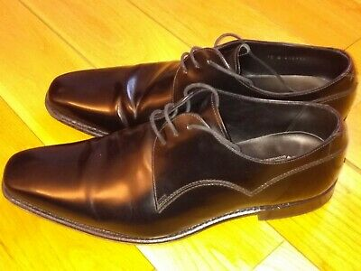 ea7f34e986575 Mens Barker Derby shoes black leather size 10 (Wide fitting) No Reserve