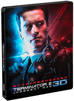 Terminator 2 Judgment Day - Limited Edition Steelbook (Blu-ray 2D/3D) BRAND NEW!