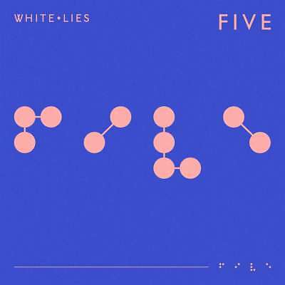 White Lies - Five - CD Album (Released 1st February 2019) Brand New