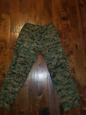 USMC Woodland Marpat Camouflage Trousers, Large-Regular