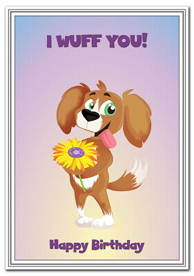 Dog Birthday Cards Happy wishes for a Dog Lover or Owner - Best Unusual Designs