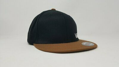 1a33b712f Vans Splitz Flexfit Hat Vn000Cfk770 Black Brown Size Small / Medium Nwt