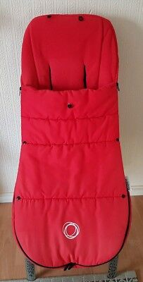 """Bugaboo Red universal cosytoe / footmuff with toggle fits donkey cam etc """""""