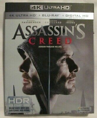 4K Ultra HD + Blu-Ray - Assassin's Creed (Brand new)