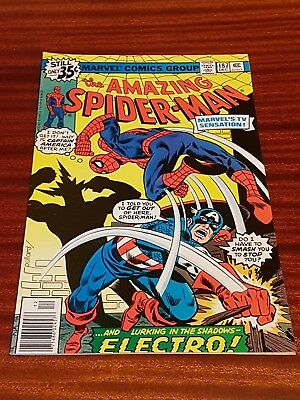 Marvel - Amazing Spiderman #187 Dec 1978 FN - Electro Captain America !!