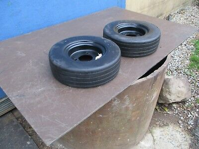 Tennant 5700 Pair of Solid Tyres