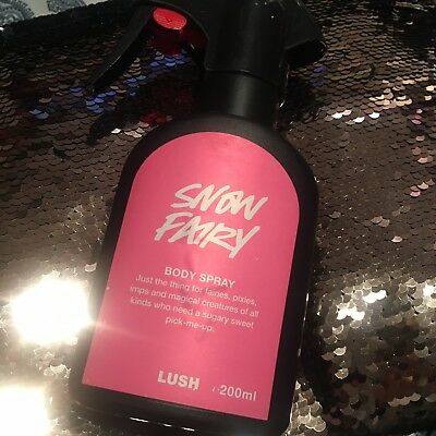 Brand New Lush Snow Fairy Body Spray 200ml RARE SOLD OUT
