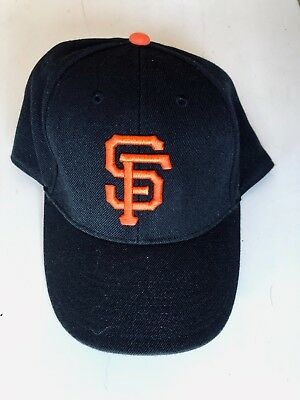 new arrival f64c9 48a06 San Francisco Giants MLB Baseball Hat 3DLogo 47 Brand Adult Buckle  Strapback Cap