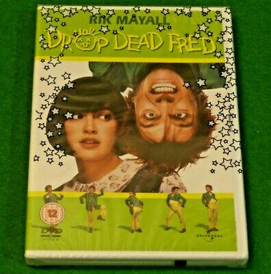 DROP DEAD FRED DVD Rik Mayall (1st UK DVD edition) Brand New & Factory Sealed