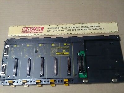 Omron C-200H BC051-v2 4 channel CPU base unit ... Used/working