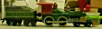 Tyco Vintage W&arr 4-4-0 General With Smoke Clean Complete Excellent Condition