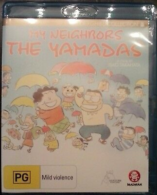 My Neighbors the Yamadas Blu Ray Studio Ghibli