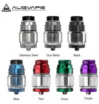 AUGVAPE Intake RTA Atomizer 24mm Tank Capacity 4.2ml/2.5ml Rebuiltdable Deck