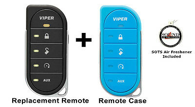 Viper 7856V 2 Way LED Remote Transmitter w/ Blue Colored Cover 87856VB Included