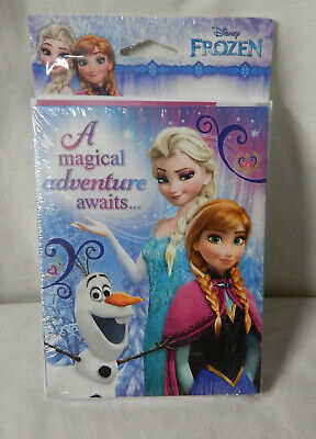 Disney Frozen Party Invite And Thank You Combo Pack Olaf Anna Elsa