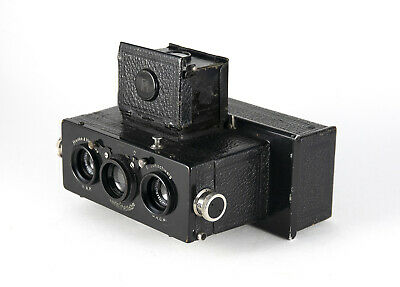 Early Heidoscop Stereo Camera +Case - Serial# 1536 - for Parts or Repair